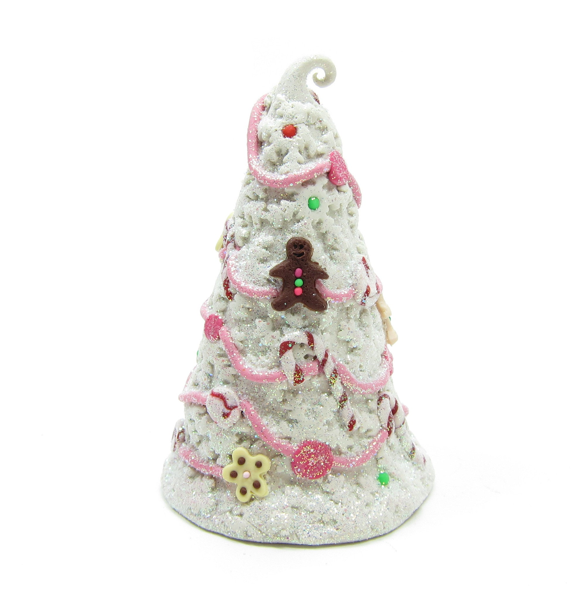 Miniature Candy Tree Polymer Clay Figurine