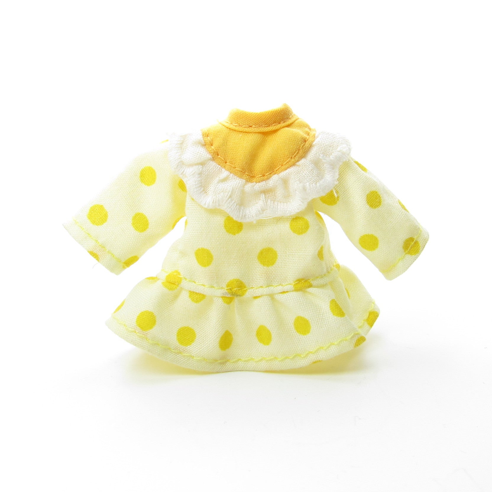 Lemon Meringue doll dress for Strawberry Shortcake doll