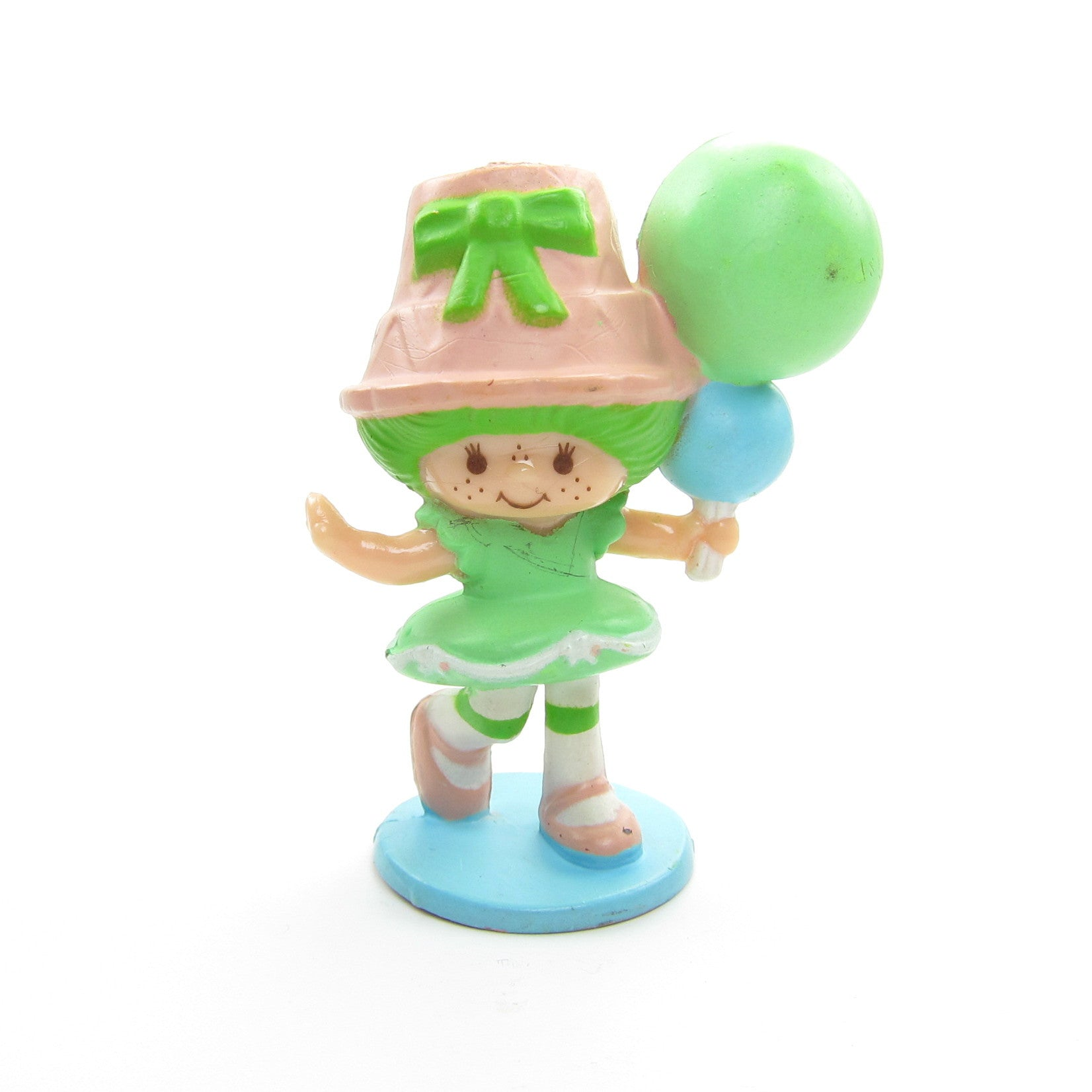 Lime Chiffon with Balloons miniature figurine