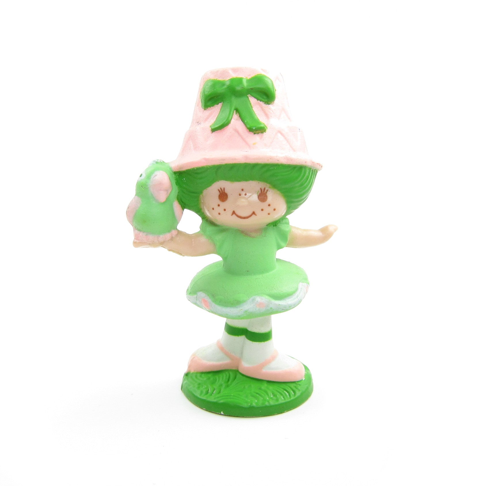 Lime Chiffon with Parfait Parrot miniature figurine