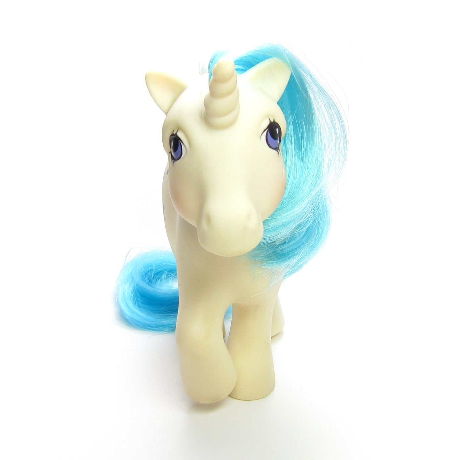 majesty g1 my little pony unicorn from dream castle playset brown