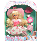 Peppermint Rose doll with perfume petals MIB