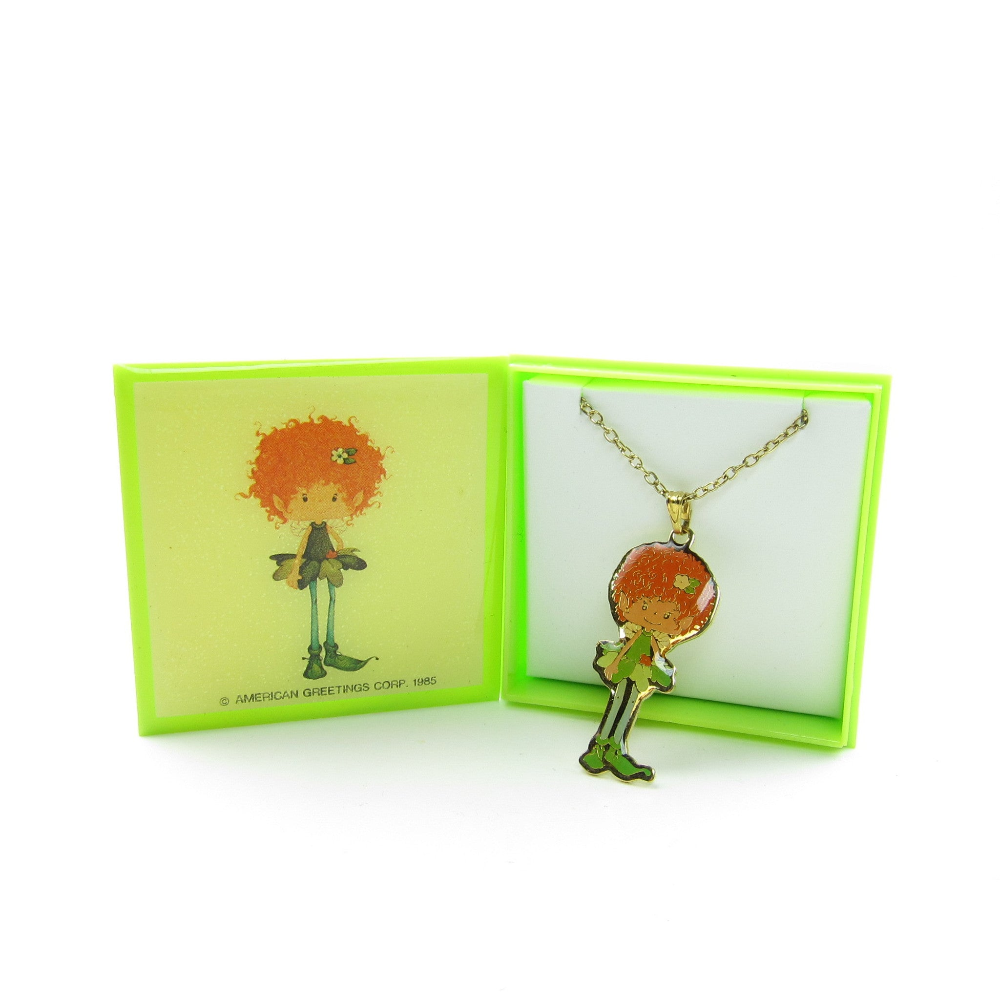 Meadow Morn Herself the Elf Necklace in gift box