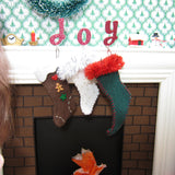 Miniature playscale doll Christmas stockings