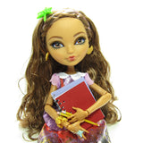 Ever After High doll with notebooks and pencils
