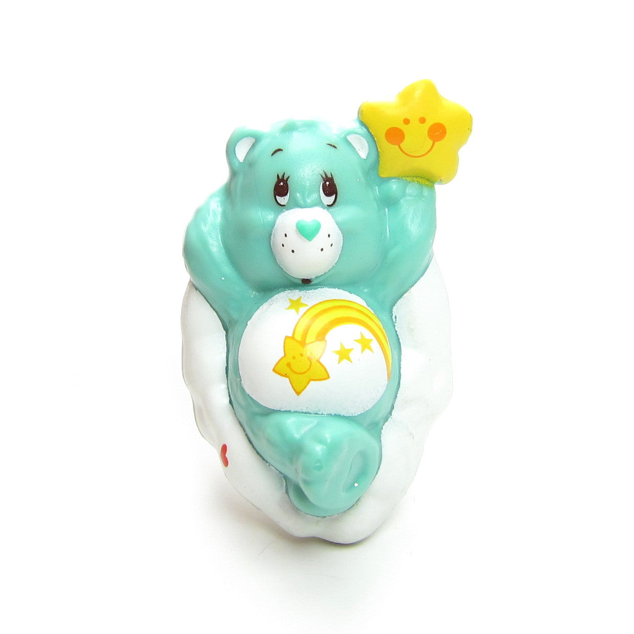 Wish Bear Wishing on a Cloud miniature figurine