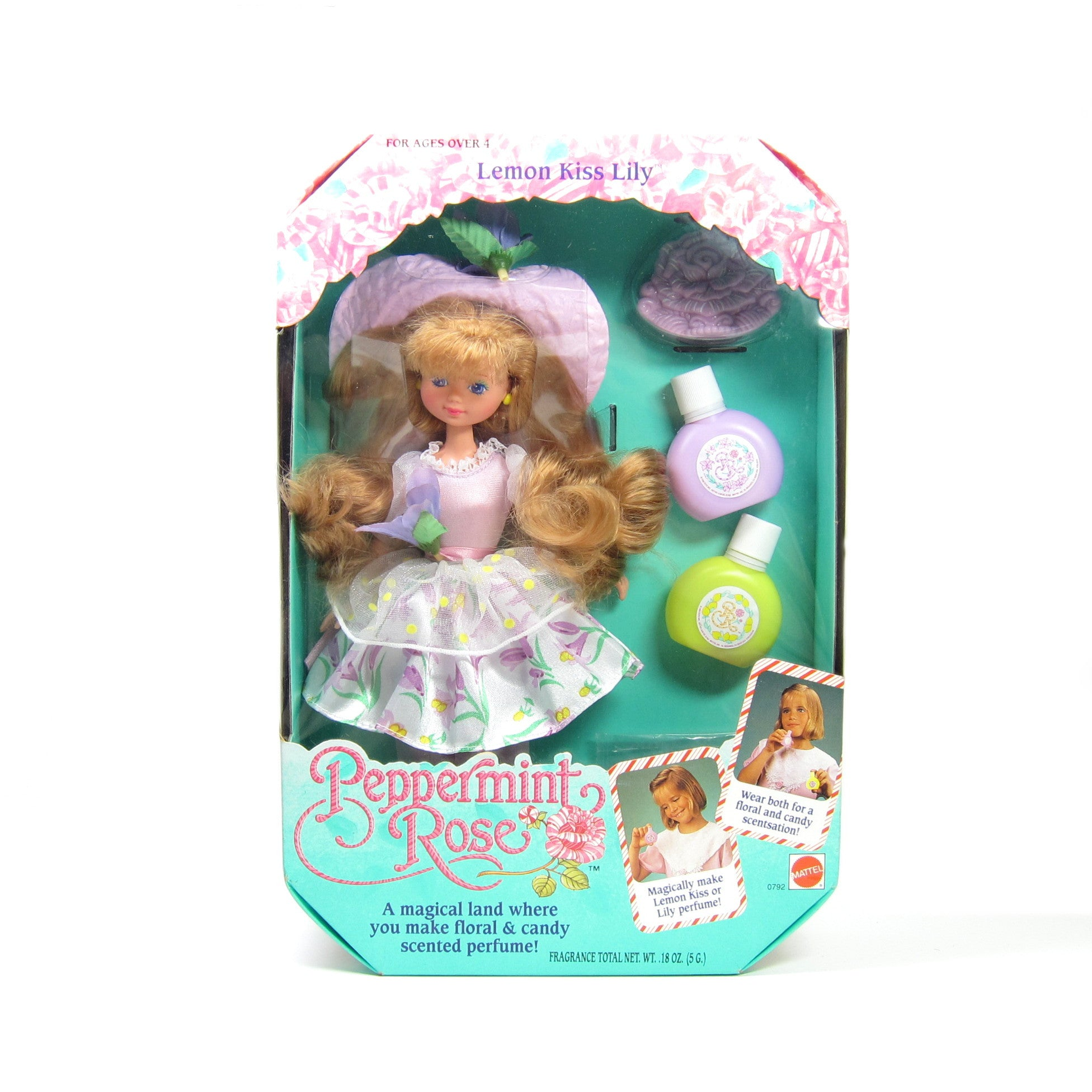 Lemon Kiss Lily Peppermint Rose doll MIB