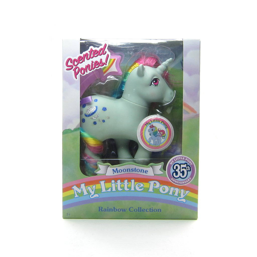 Moonstone 35th Anniversary My Little Pony Scented Ponies 2018 Classic Toy