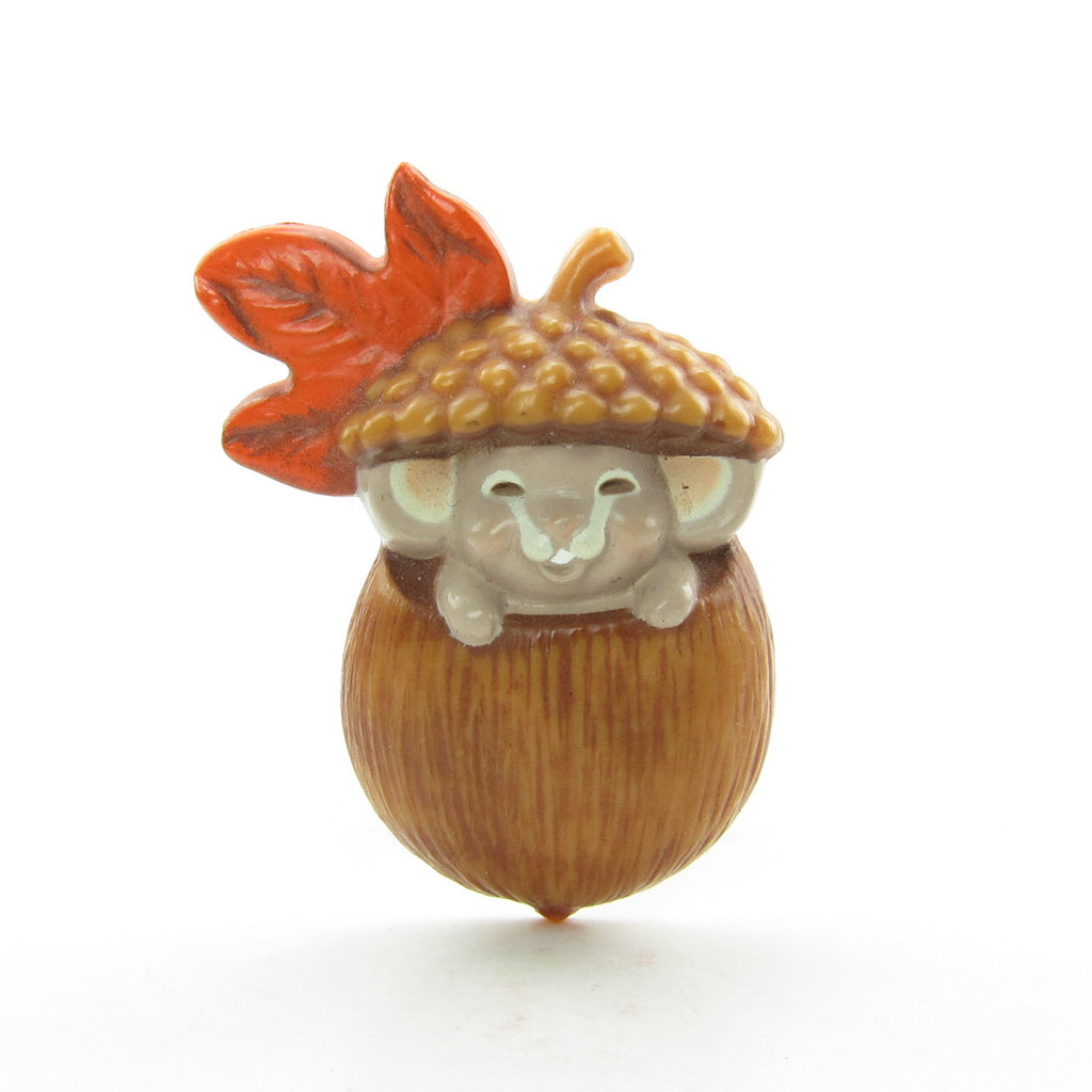 Mouse in Acorn Pin Vintage Hallmark Lapel