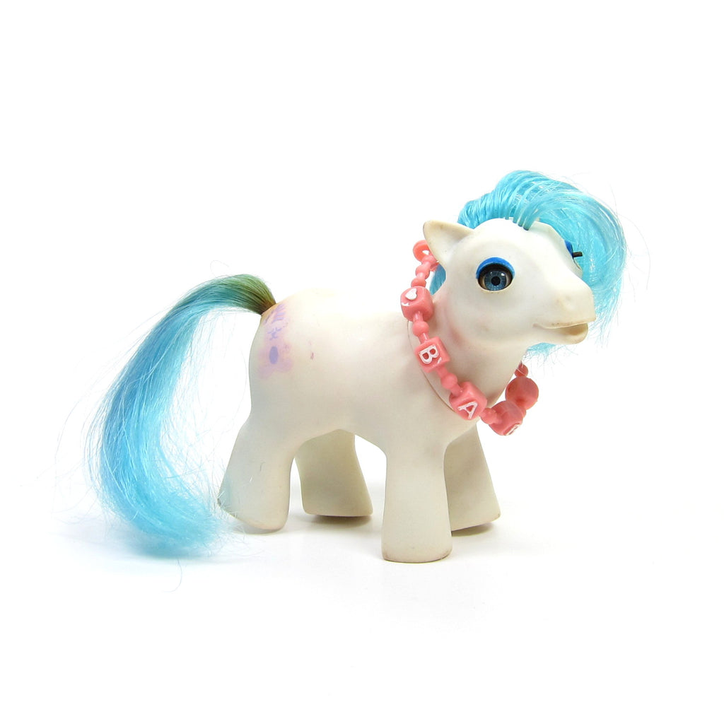 Baby Sleepy Pie G1 My Little Pony from Pony Purse Playset - BAIT PONY
