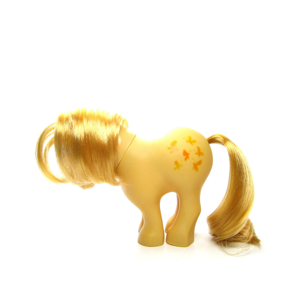 Flat Foot Butterscotch My Little Pony Vintage G1