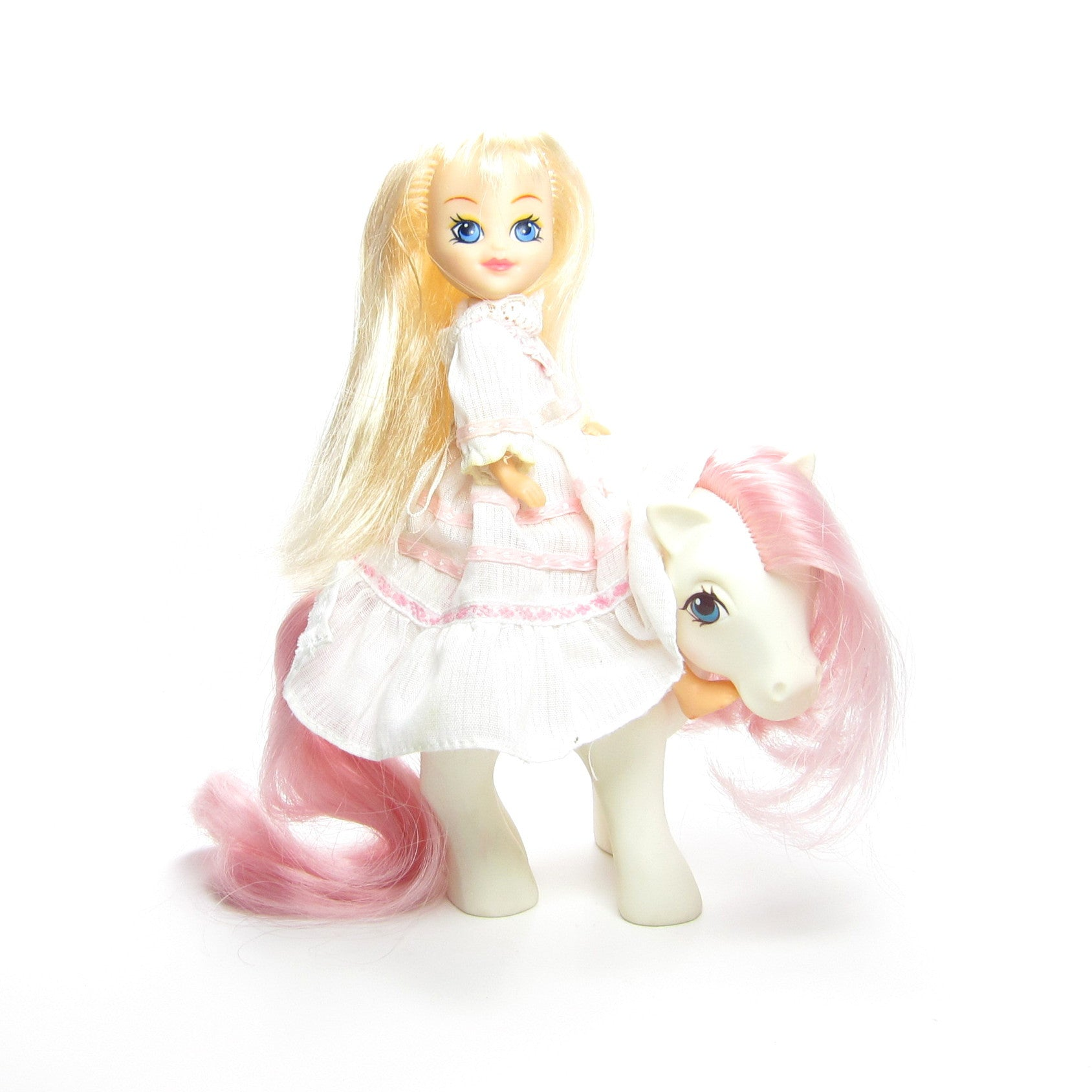 Megan and Sundance pony and human friend set