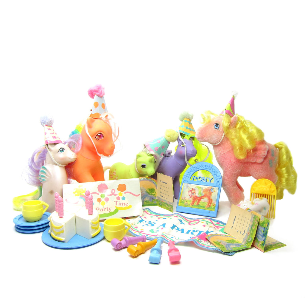 Party Gift Pack My Little Pony Set with Ponies & Accessories