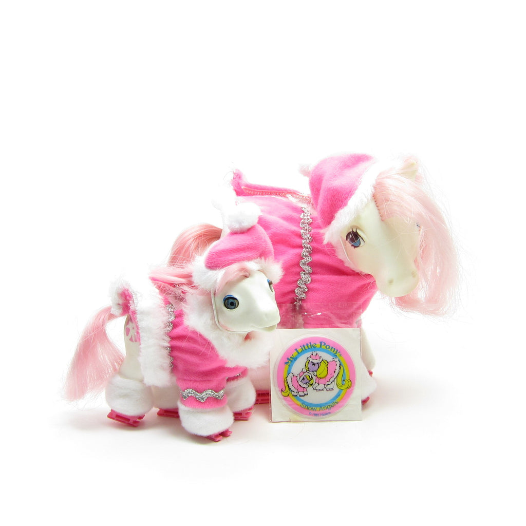 Snow Angels My Little Pony Wear Mother & Baby Ice Skating Set