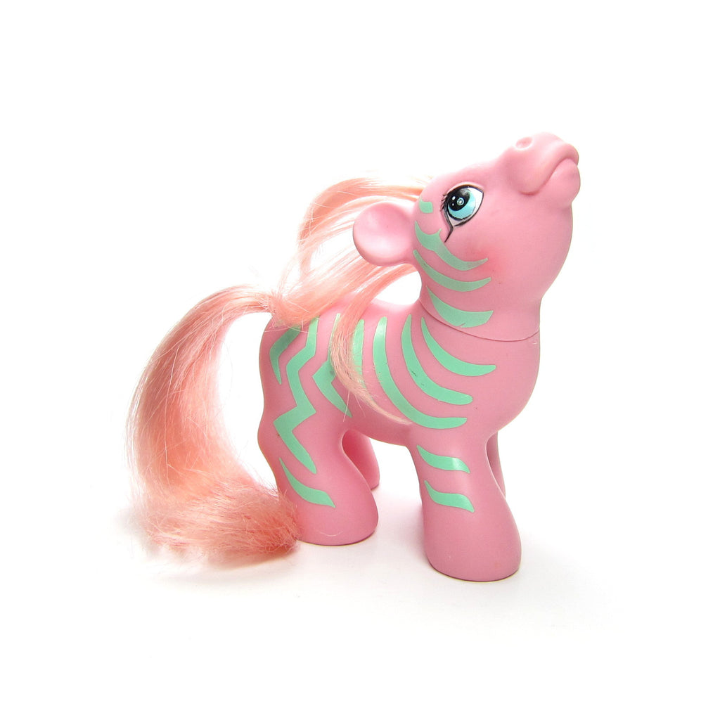 Zig Zag the Zebra My Little Pony Vintage G1 Pony Friends