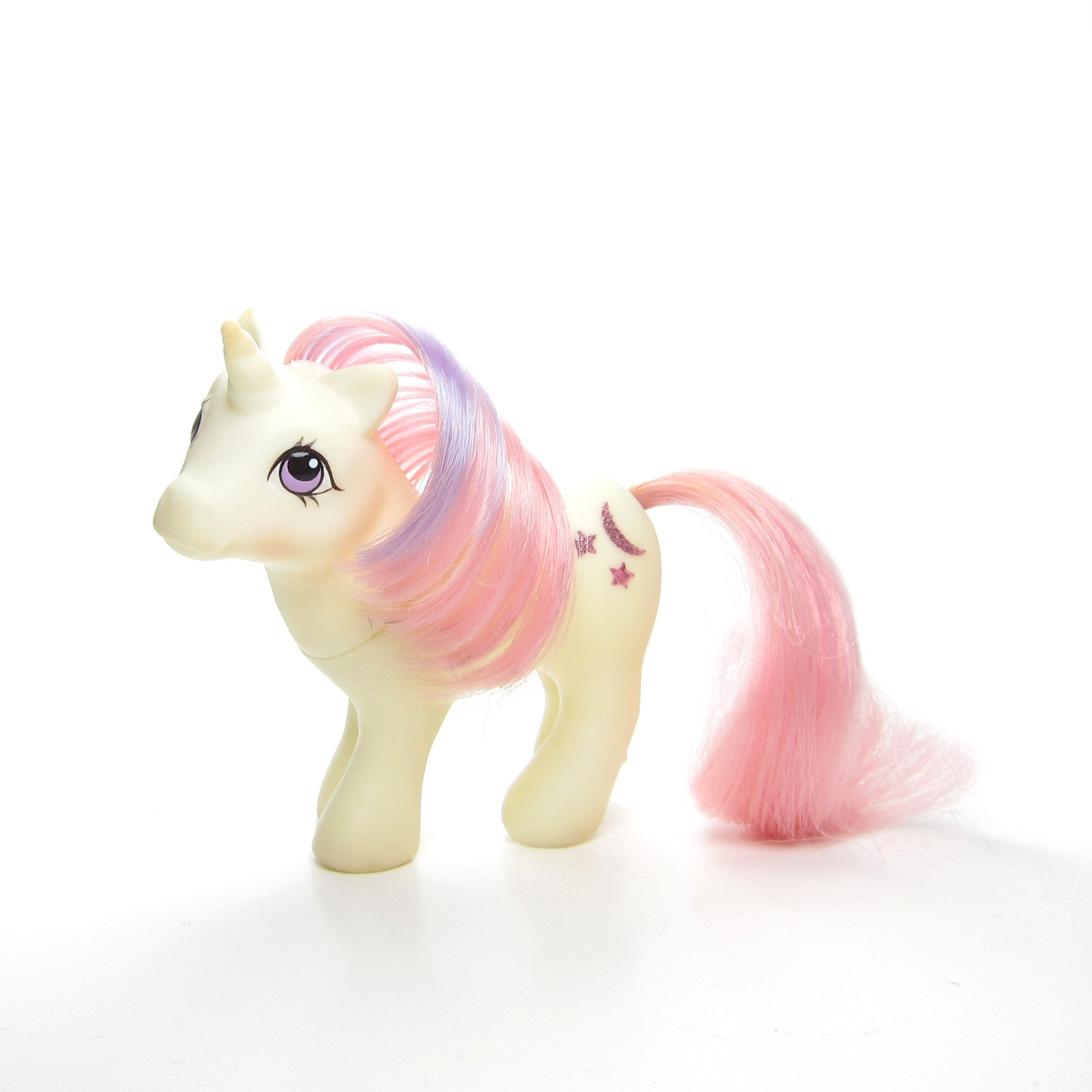 baby moondancer my little pony g1 unicorn brown eyed rose