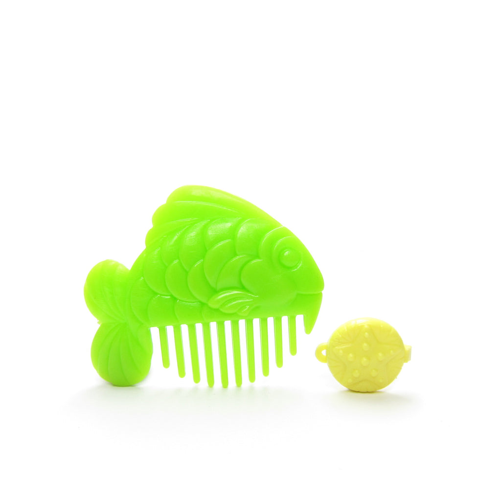 Seashore Pretty Ups Comb & Barrette Starfish Hair Clip, Fish Comb My Little Pony Accessories