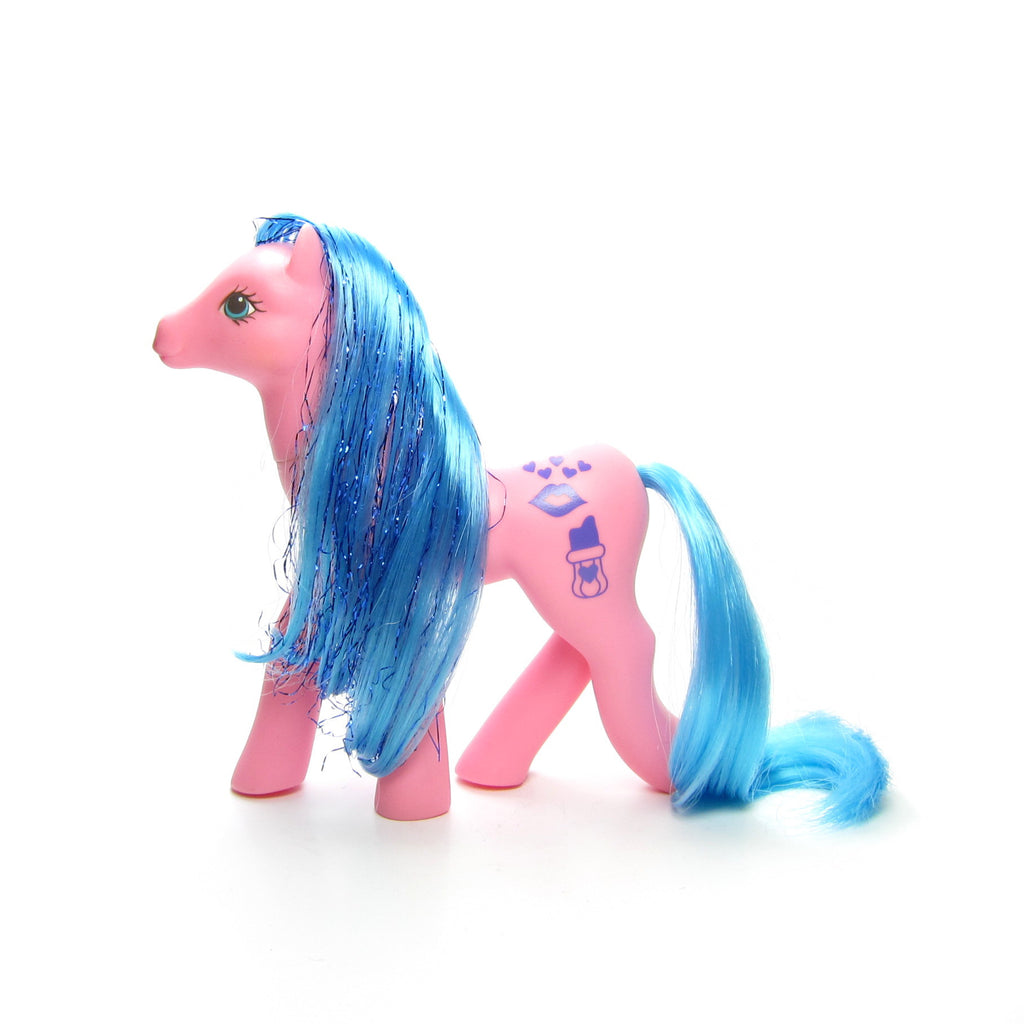 Happy Hugs Sweet Kisses My Little Pony G1 with Lipstick