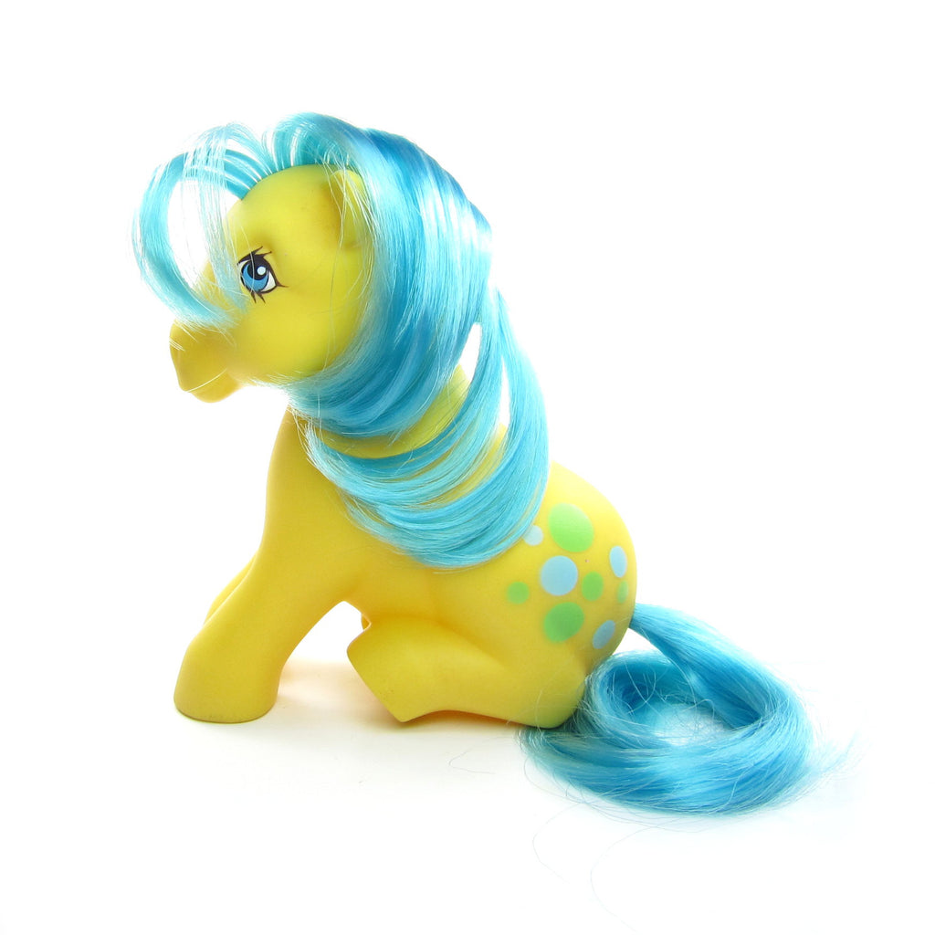 Bubbles My Little Pony Vintage G1 Sitting Pose