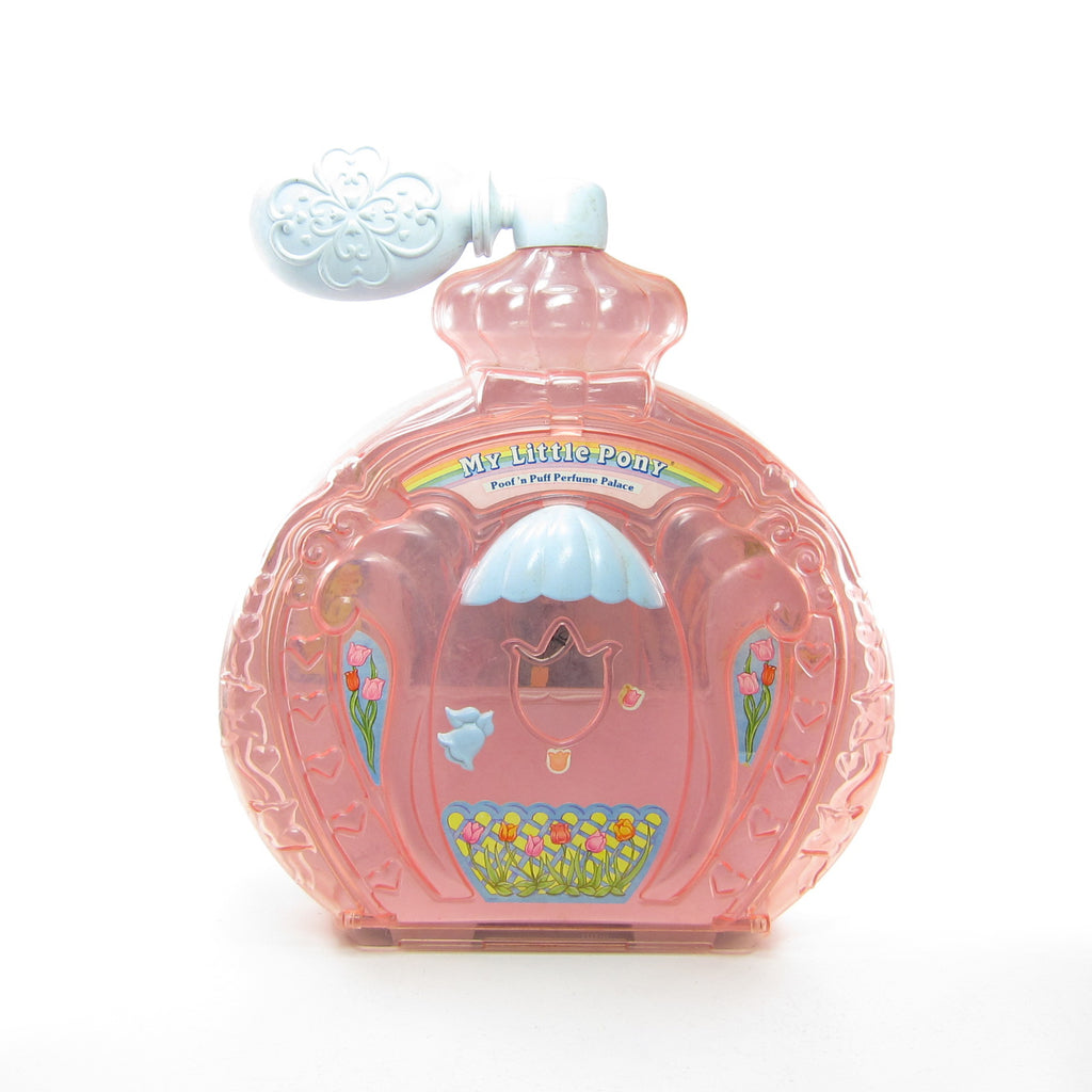Poof 'n Puff Perfume Palace Playset My Little Pony G1 Toy