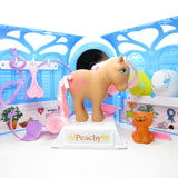 Pretty Parlor 35th Anniversary playset with Peachy, Twinkles cat