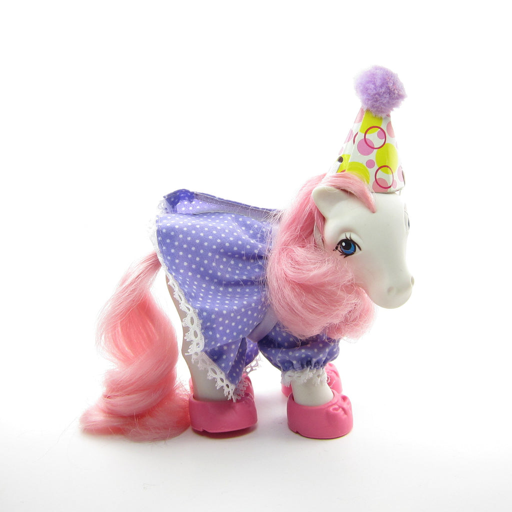 Party Time My Little Pony Wear Vintage G1 Birthday Dress & Shoes