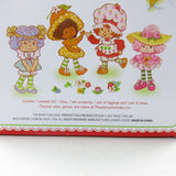 Strawberry shortcake doll with hat, dress, tights and shoes