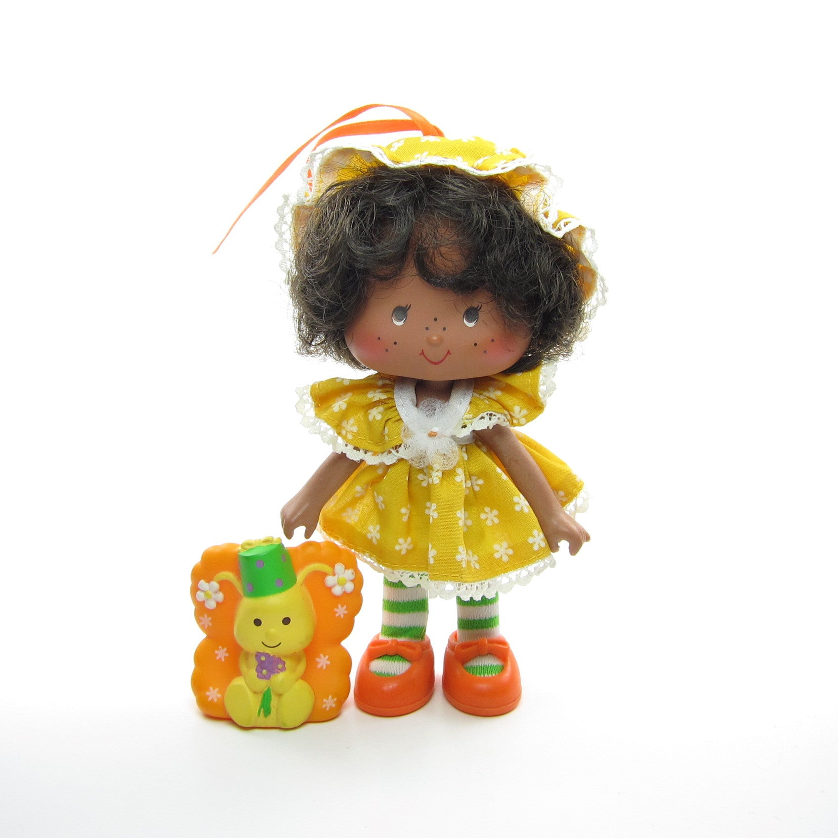 Orange Blossom Party Pleaser doll with Marmalade pet