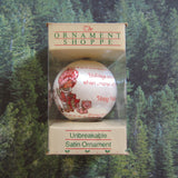 Strawberry Shortcake Christmas ornament in box