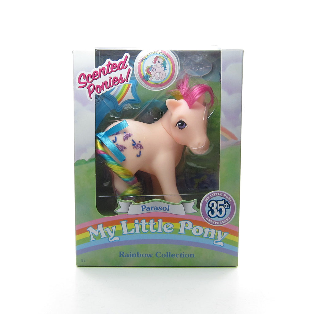 Parasol 35th Anniversary My Little Pony Scented Ponies 2018 Classic Toy