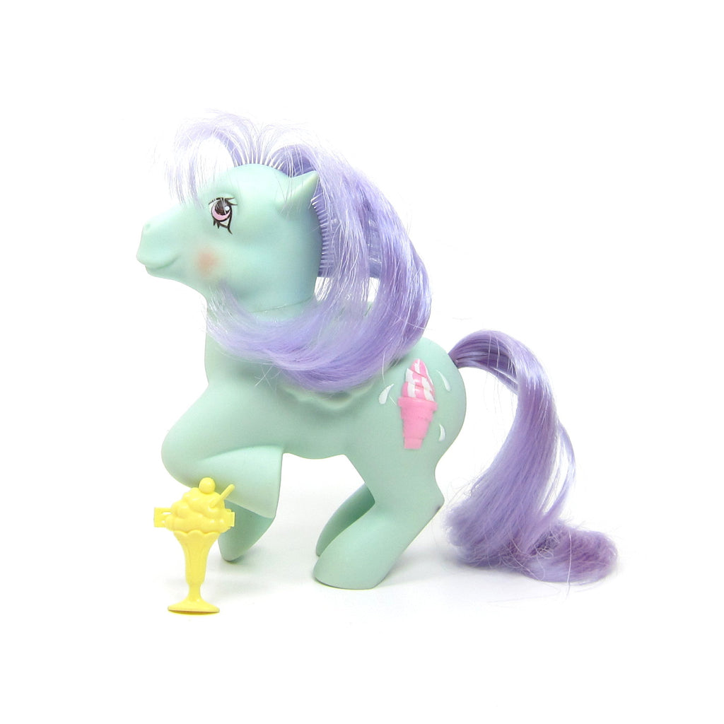 Peppermint Crunch Sundae Best Vintage G1 My Little Pony