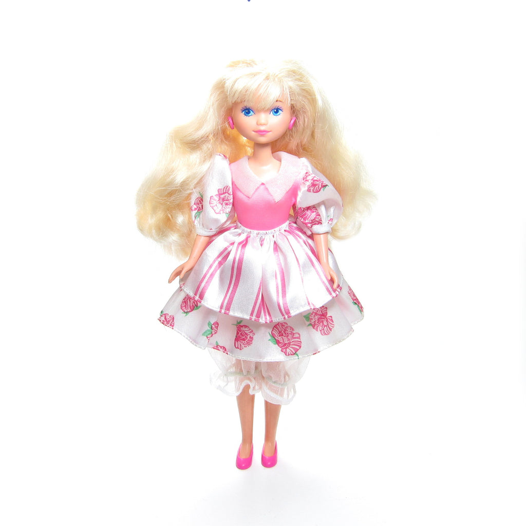 Peppermint Rose Doll with Outfit, Skirts and Shoes