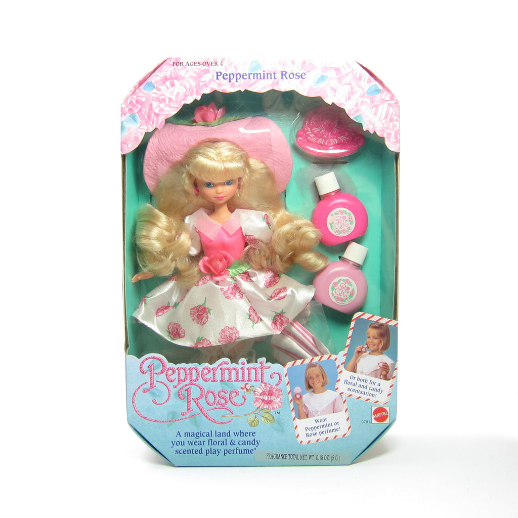Peppermint Rose Doll MIB Vintage Mattel Blonde Hair NRFB