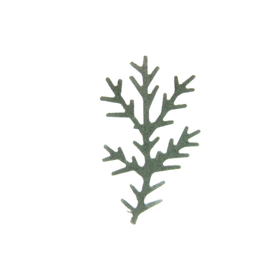 Sage green pine bough paper punches