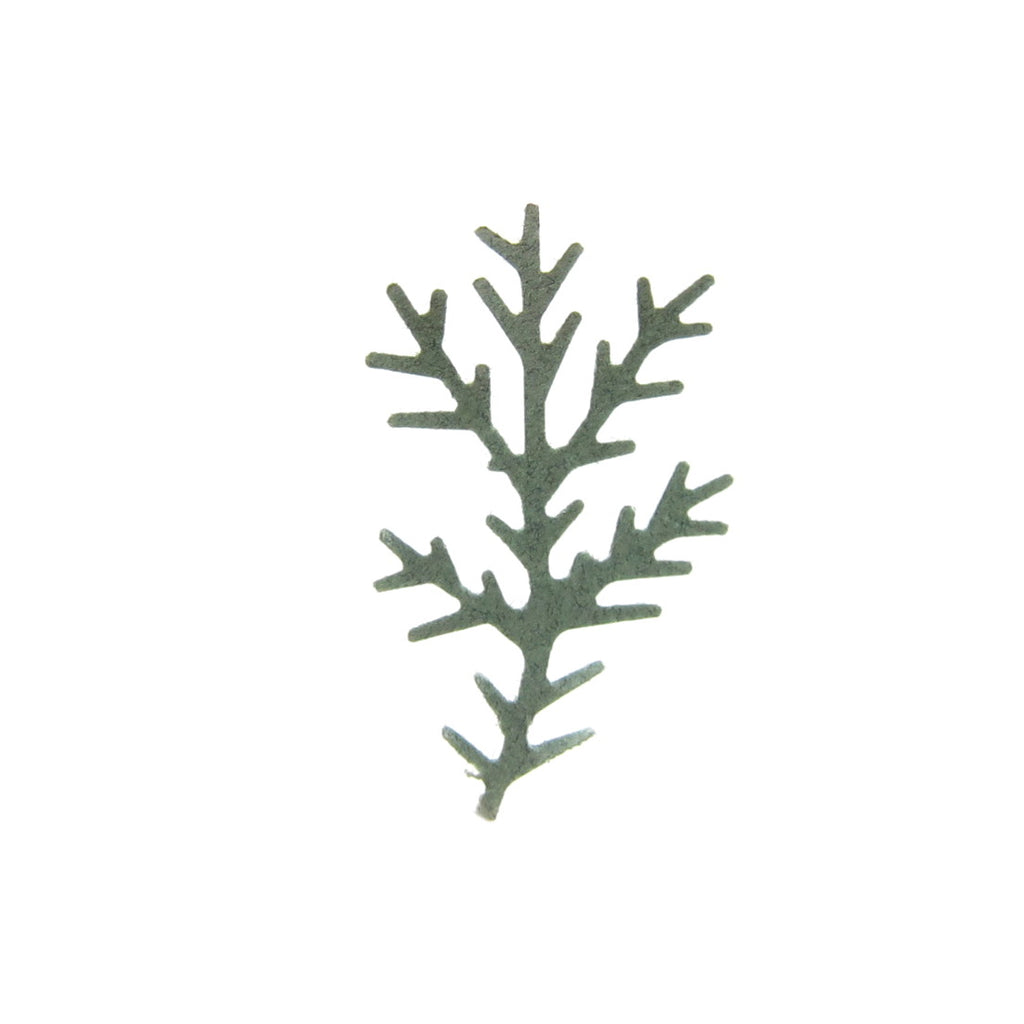 Pine Bough Paper Punches with Evergreen Branch