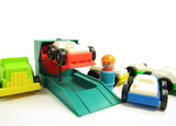 Fisher-Price Little People Play Family mechanic lift for garage