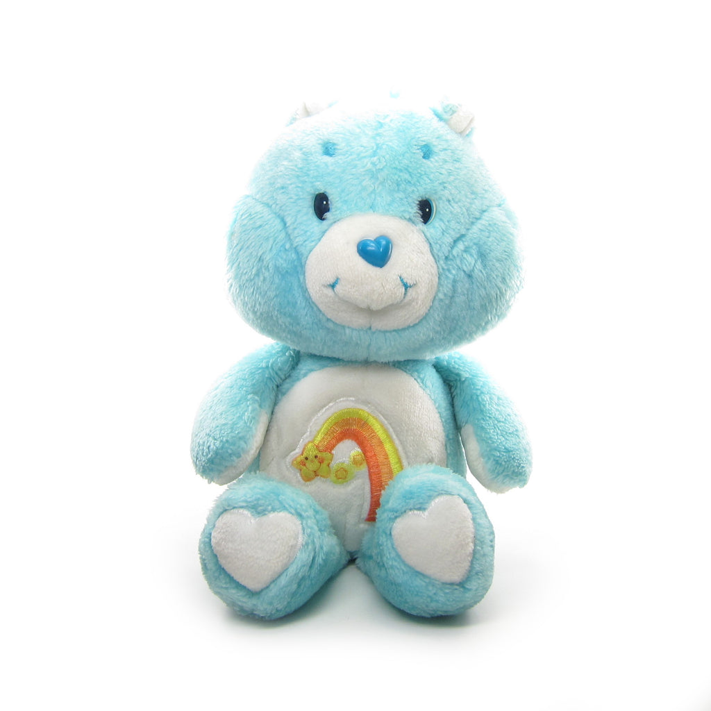 "Wish Bear Plush Vintage 13"" Care Bears Stuffed Animal"