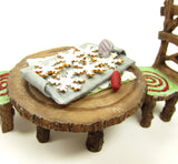 Polymer Clay Dollhouse Christmas Cookies