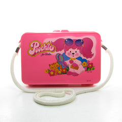Poochie purse pink plastic case with strap