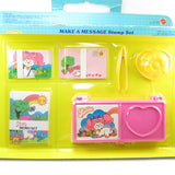 Poochie Make a Message Mint in Box ink stamp set