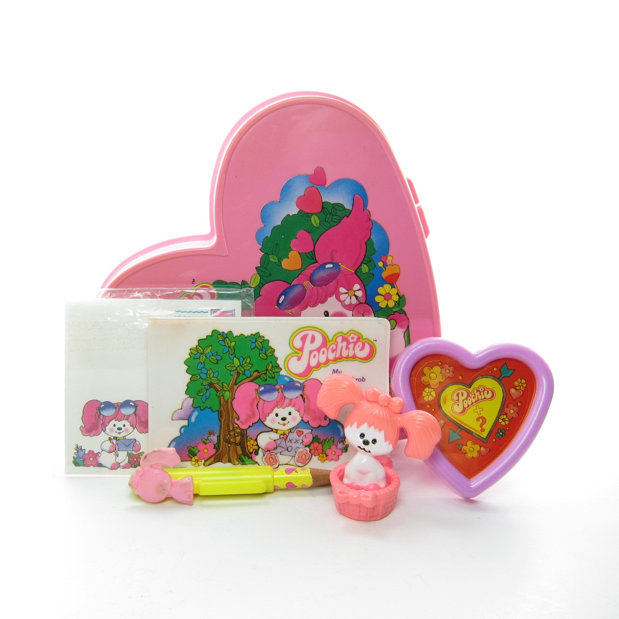 My Heartthrob Box vintage Poochie stationary set