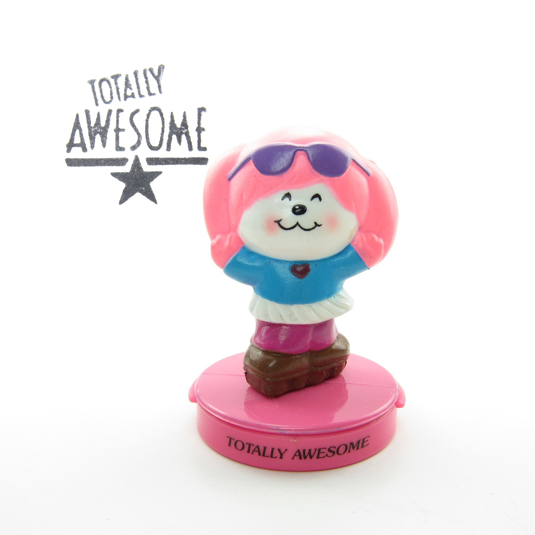 Poochie Totally Awesome ink stamp
