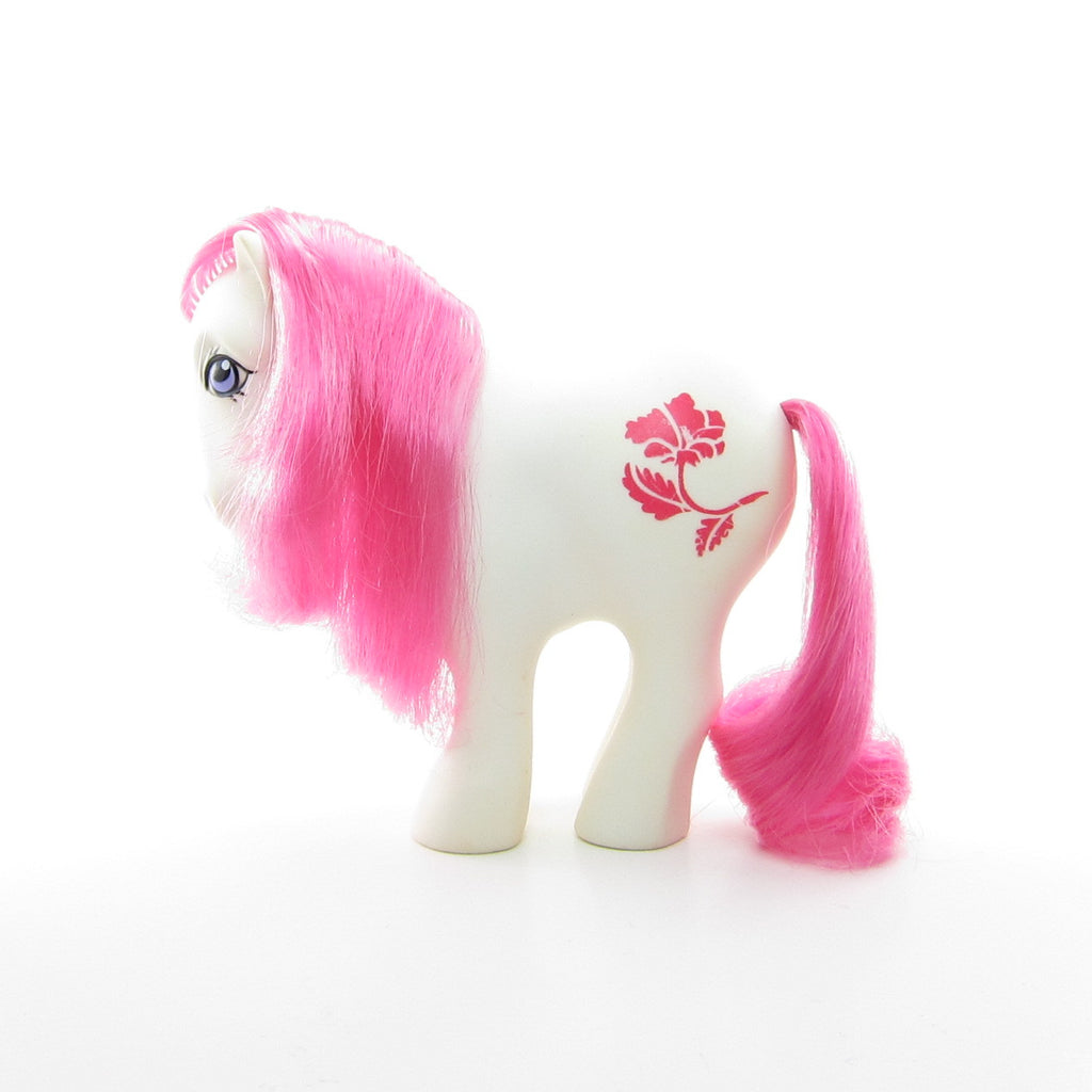August Poppy Birthflower Ponies Vintage G1 Mail Order My Little Pony
