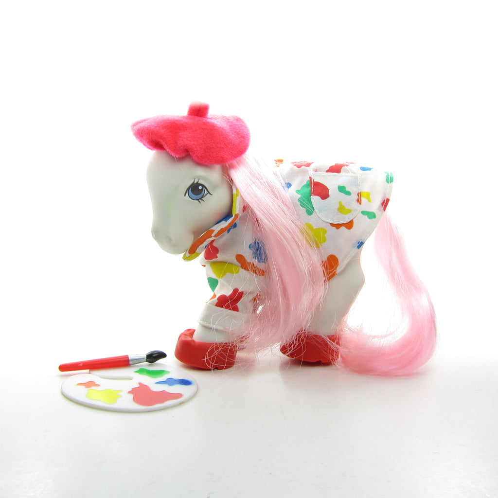 Pretty As A Picture My Little Pony Wear G1 Artist Outfit