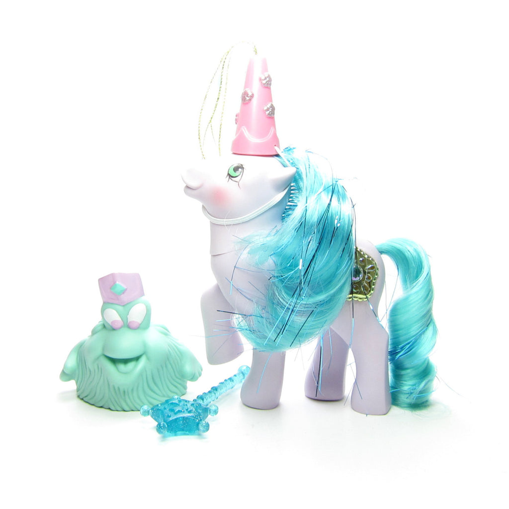 Princess Sparkle Vintage G1 My Little Pony with Accessories