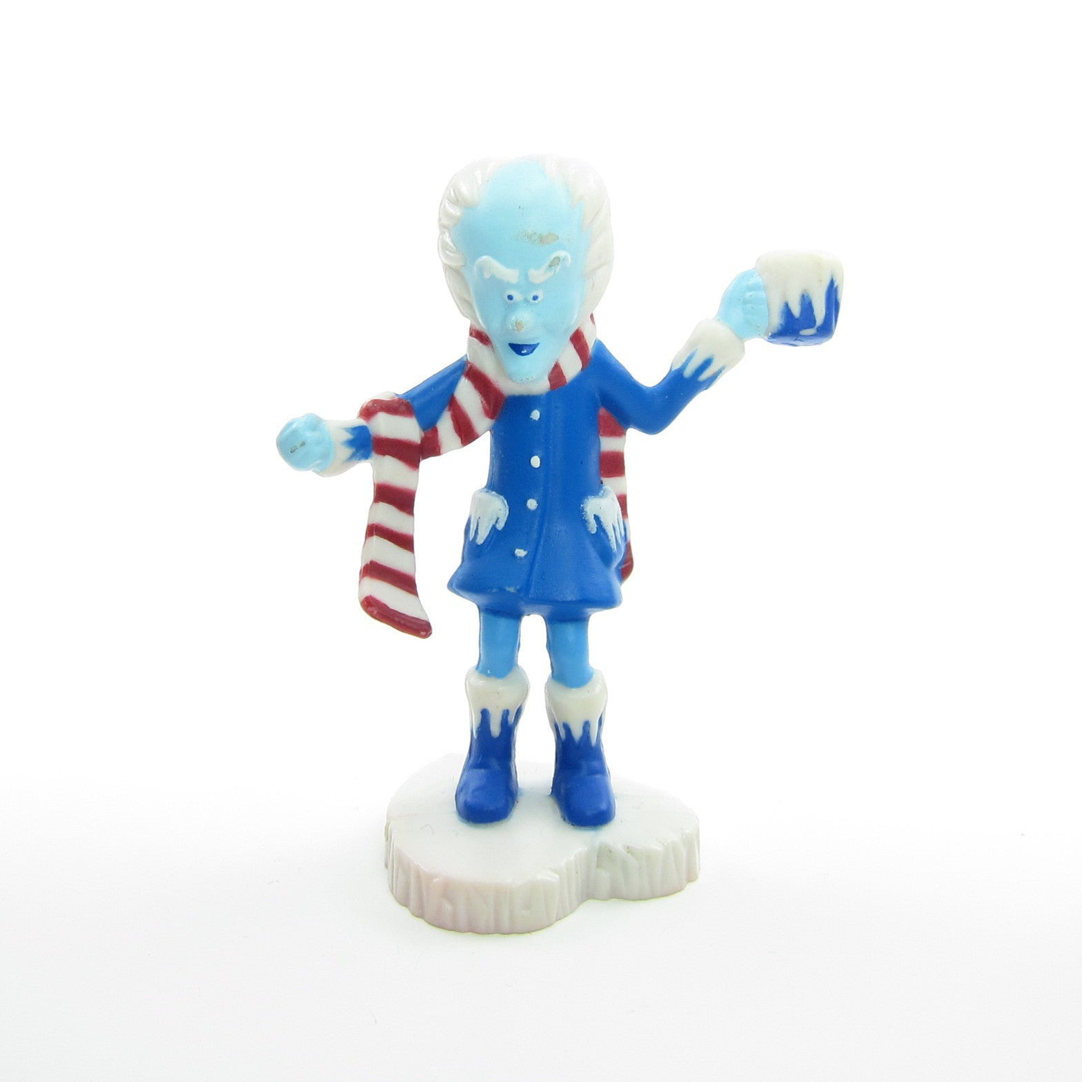Professor Cold Heart Trying to Freeze Your Feelings miniature figurine
