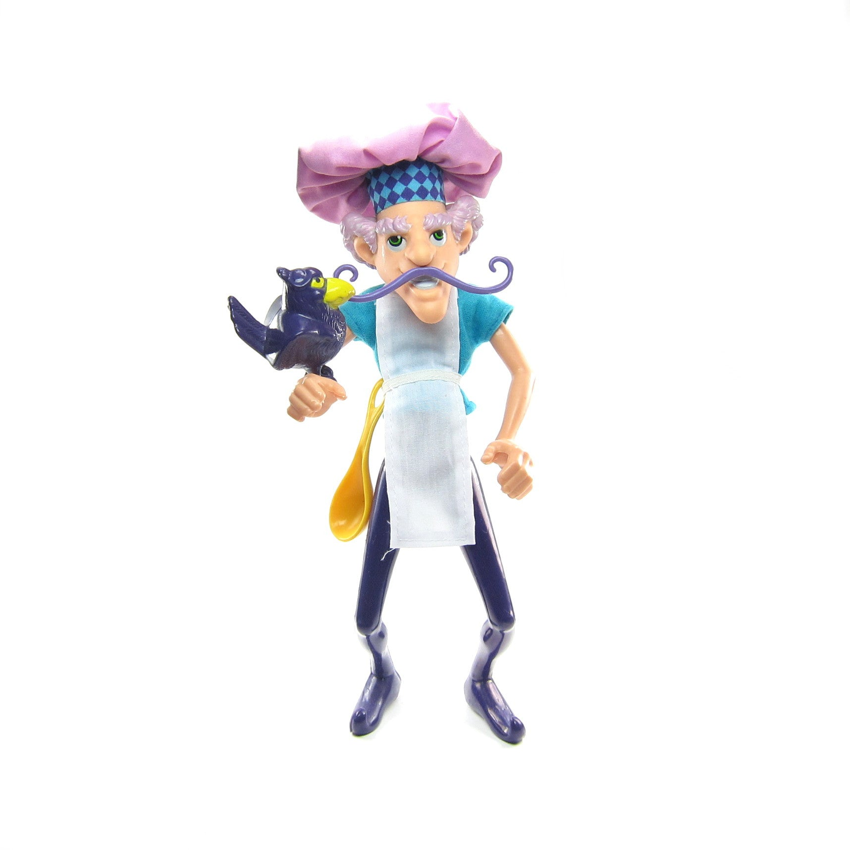 Purple Pie Man doll with spoon and Berry Bird pet