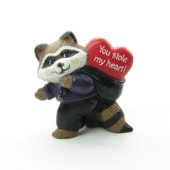 Hallmark Raccoon Thief You Stole My Heart figure