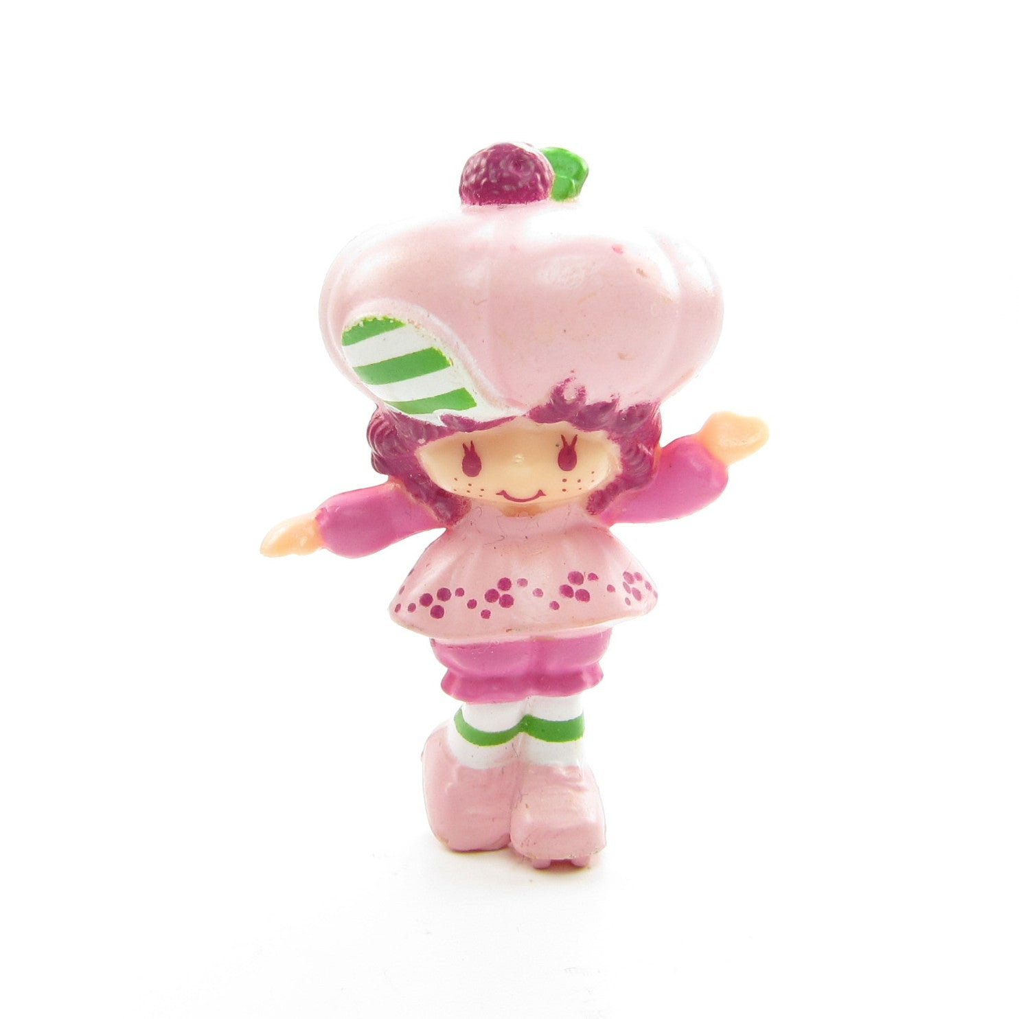 Raspberry Tart on Roller Skates miniature figurine