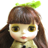Blythe Red Delicious brown special eye color with hologram